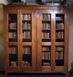 Antiek Encyclopedie Antiek Boekenkast Antieke Meubelen
