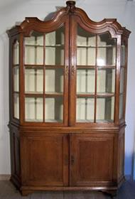 Antiek Encyclopedie Antieke Vitrinekast Of Glaskast