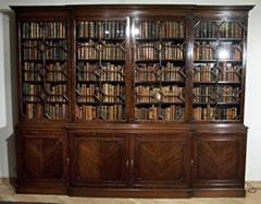 Antieke Boekenkast Mahonie.Antiek Encyclopedie Antiek Boekenkast Antieke Meubelen Prijzen